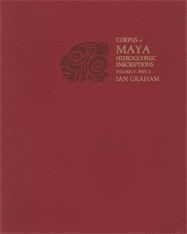 Cover: Corpus of Maya Hieroglyphic Inscriptions, Volume 5: Part 3: Uaxactun in PAPERBACK