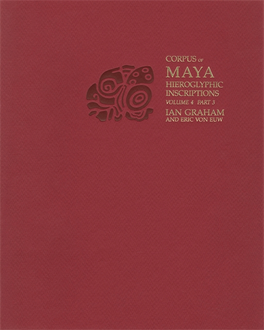 Cover: Corpus of Maya Hieroglyphic Inscriptions, Volume 4: Part 3: Uxmal, Xcalumkin, from Harvard University Press