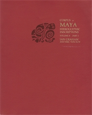 Cover: Corpus of Maya Hieroglyphic Inscriptions, Volume 8: Part 1: Coba in PAPERBACK