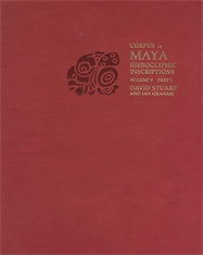 Cover: Corpus of Maya Hieroglyphic Inscriptions, Volume 9: Part 1: Piedras Negras in PAPERBACK