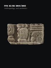 Cover: Res: Anthropology and Aesthetics, 65/66: 2014/2015