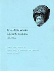 Cover: Craniodental Variation Among the Great Apes in PAPERBACK