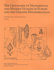 Cover: The Geography of Neandertals and Modern Humans in Europe and the Greater Mediterranean in PAPERBACK