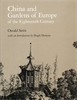 Cover: China and Gardens of Europe of the Eighteenth Century