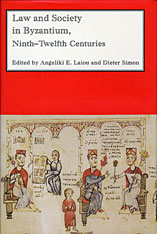 Cover: Law and Society in Byzantium: Ninth-Twelfth Centuries