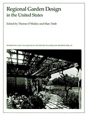 Cover: Regional Garden Design in the United States in HARDCOVER