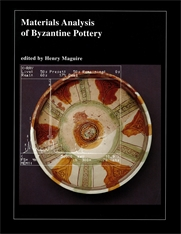 Cover: Materials Analysis of Byzantine Pottery