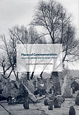 Cover: Places of Commemoration: Search for Identity and Landscape Design