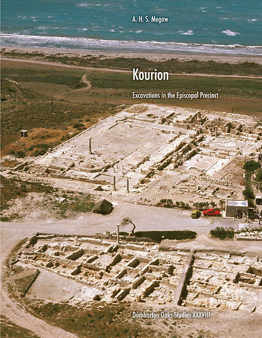 Cover: Kourion: Excavations in the Episcopal Precinct, from Harvard University Press