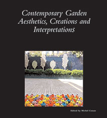 Cover: Contemporary Garden Aesthetics, Creations and Interpretations in PAPERBACK