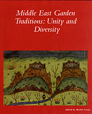Cover: Middle East Garden Traditions in PAPERBACK