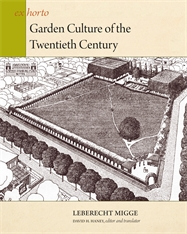 Cover: Garden Culture of the Twentieth Century