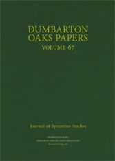 Cover: Dumbarton Oaks Papers, 67