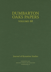 Cover: Dumbarton Oaks Papers, 68