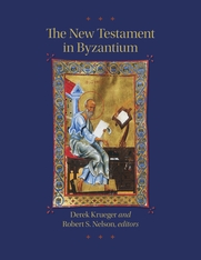 Cover: The New Testament in Byzantium in HARDCOVER