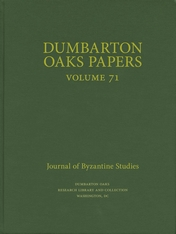 Cover: Dumbarton Oaks Papers, 71