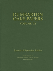 Cover: Dumbarton Oaks Papers, 72 in HARDCOVER