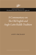 Cover: A Commentary on <i>The Old English and Anglo-Latin Riddle Tradition</i> in HARDCOVER
