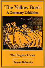 Cover: The Yellow Book: A Centenary Exhibition