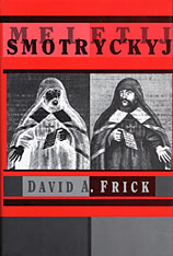 Cover: Meletij Smotryc´kyj in PAPERBACK