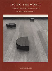 Cover: Pacing the World: Construction in the Sculpture of David Rabinowitch