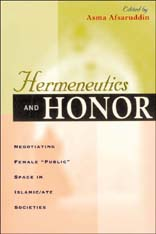 Cover: Hermeneutics and Honor: Negotiating Female