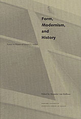 Cover: Form, Modernism, and History: Essays in Honor of Eduard F. Seckler