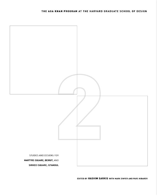 Cover: Two Squares, from Harvard University Press