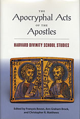 Cover: The Apocryphal Acts of the Apostles: Harvard Divinity School Studies