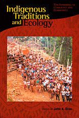 Cover: Indigenous Traditions and Ecology in HARDCOVER
