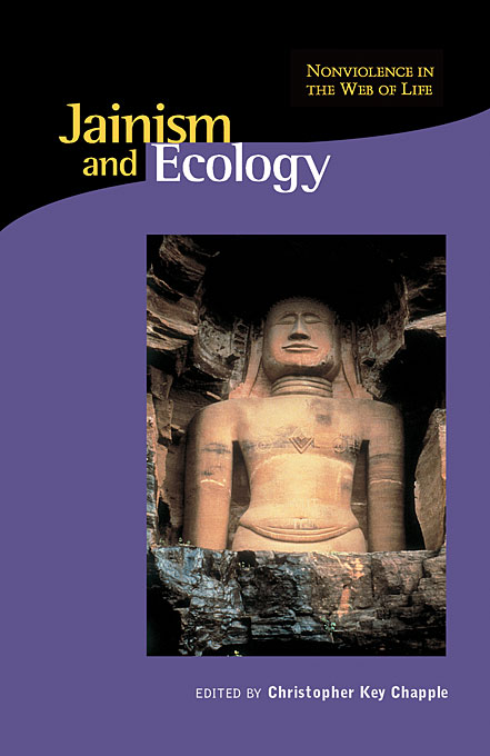 Cover: Jainism and Ecology: Nonviolence in the Web of Life, from Harvard University Press