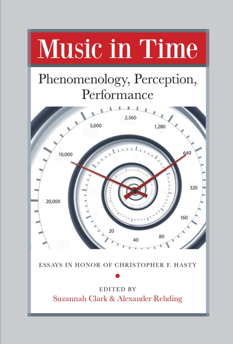 Cover: Music in Time: Phenomenology, Perception, Performance, from Harvard University Press