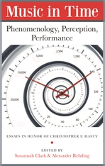 Cover: Music in Time: Phenomenology, Perception, Performance