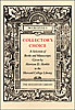 Cover: Collector's Choice: A Selection of Books and Manuscripts Given by Harrison D. Horblit to the Harvard College Library