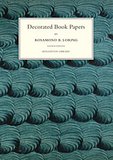 Cover: Decorated Book Papers: Being an Account of Their Designs and Fashions