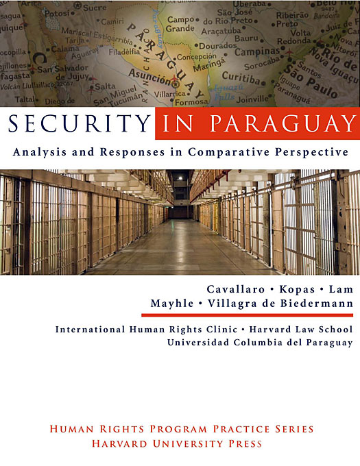 Cover: Security in Paraguay: Analysis and Responses in Comparative Perspective, from Harvard University Press