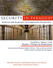 Cover: Security in Paraguay: Analysis and Responses in Comparative Perspective