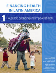 Cover: Financing Health in Latin America, Volume 1: Household Spending and Impoverishment in PAPERBACK