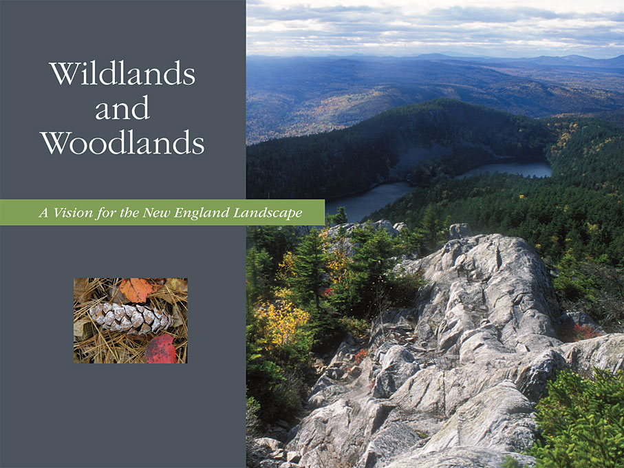 Cover: Wildlands and Woodlands: A Vision for the New England Landscape, from Harvard University Press