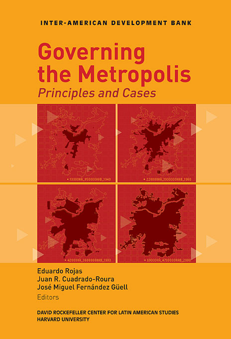 Cover: Governing the Metropolis: Principles and Cases, from Harvard University Press