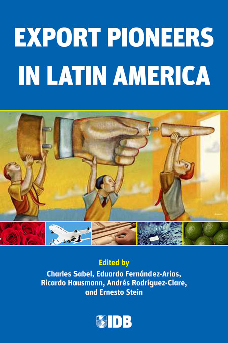 Cover: Export Pioneers in Latin America, from Harvard University Press