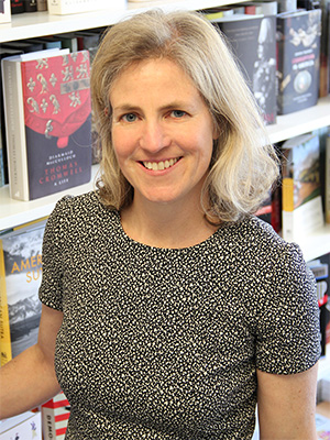 Photo of Joy de Menil, Director of Belknap Publishing