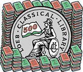 Logo: The Loeb Classical Library 500th Book