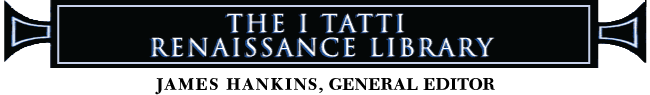 Banner: The I Tatti Renaissance Library